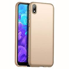 Huawei Y5 (2019)用ハードケース プラスチック 質感もマット M01 ファーウェイ ゴールド