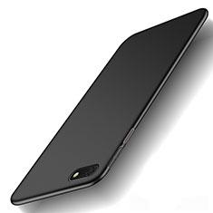 Huawei Y5 Prime (2018)用ハードケース プラスチック 質感もマット M01 ファーウェイ ブラック