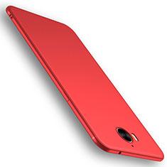 Huawei Y6 (2017)用極薄ソフトケース シリコンケース 耐衝撃 全面保護 S01 ファーウェイ レッド