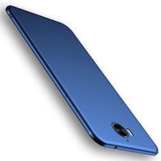 Huawei Y6 (2017)用極薄ソフトケース シリコンケース 耐衝撃 全面保護 S01 ファーウェイ ネイビー