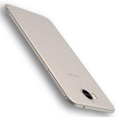 Huawei Y6 (2017)用極薄ソフトケース シリコンケース 耐衝撃 全面保護 S01 ファーウェイ クリア