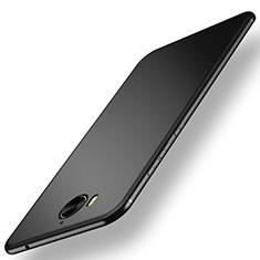 Huawei Y6 (2017)用極薄ソフトケース シリコンケース 耐衝撃 全面保護 ファーウェイ ブラック