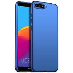 Huawei Y6 (2018)用ハードケース プラスチック 質感もマット P01 ファーウェイ ネイビー