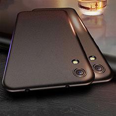 Huawei Y6 (2019)用極薄ソフトケース シリコンケース 耐衝撃 全面保護 ファーウェイ ブラック