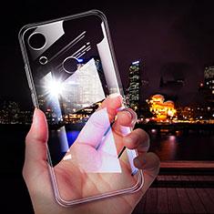 Huawei Y6 (2019)用極薄ソフトケース シリコンケース 耐衝撃 全面保護 クリア透明 T02 ファーウェイ クリア