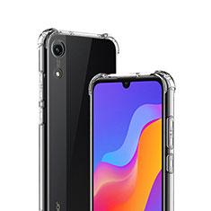 Huawei Y6 (2019)用極薄ソフトケース シリコンケース 耐衝撃 全面保護 クリア透明 T03 ファーウェイ クリア