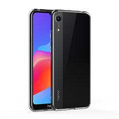 Huawei Y6 (2019)用極薄ソフトケース シリコンケース 耐衝撃 全面保護 クリア透明 T05 ファーウェイ クリア