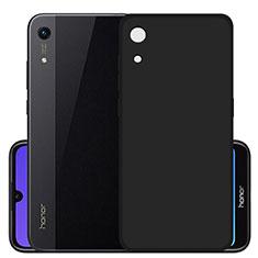 Huawei Y6 (2019)用極薄ソフトケース シリコンケース 耐衝撃 全面保護 S03 ファーウェイ ブラック