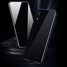Huawei Y6 (2019)用極薄ソフトケース シリコンケース 耐衝撃 全面保護 クリア透明 T08 ファーウェイ クリア