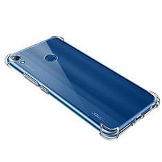 Huawei Y6 (2019)用極薄ソフトケース シリコンケース 耐衝撃 全面保護 クリア透明 T09 ファーウェイ クリア