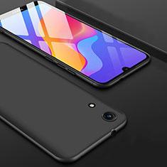 Huawei Y6 (2019)用極薄ソフトケース シリコンケース 耐衝撃 全面保護 S08 ファーウェイ ブラック