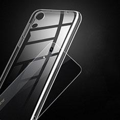 Huawei Y6 (2019)用極薄ソフトケース シリコンケース 耐衝撃 全面保護 クリア透明 T14 ファーウェイ クリア