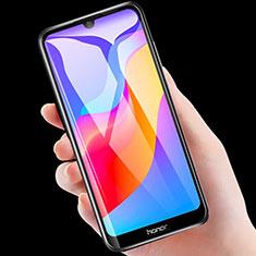 Huawei Y6 (2019)用アンチグレア ブルーライト 強化ガラス 液晶保護フィルム B04 ファーウェイ クリア