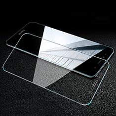 Huawei Y6 Prime (2018)用強化ガラス 液晶保護フィルム T02 ファーウェイ クリア