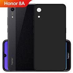 Huawei Y6 Prime (2019)用極薄ソフトケース シリコンケース 耐衝撃 全面保護 S03 ファーウェイ ブラック