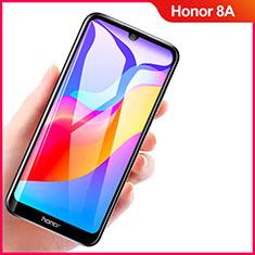 Huawei Y6 Prime (2019)用強化ガラス フル液晶保護フィルム F04 ファーウェイ ブラック