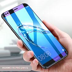 Huawei Y6 Pro (2017)用アンチグレア ブルーライト 強化ガラス 液晶保護フィルム ファーウェイ クリア