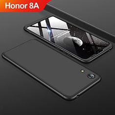 Huawei Y6 Pro (2019)用ハードケース プラスチック 質感もマット 前面と背面 360度 フルカバー ファーウェイ ブラック