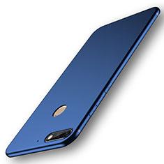 Huawei Y7 (2018)用極薄ソフトケース シリコンケース 耐衝撃 全面保護 S01 ファーウェイ ネイビー