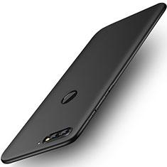 Huawei Y7 (2018)用極薄ソフトケース シリコンケース 耐衝撃 全面保護 S01 ファーウェイ ブラック