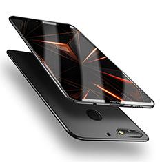 Huawei Y7 (2018)用ハードケース プラスチック 質感もマット M05 ファーウェイ ブラック