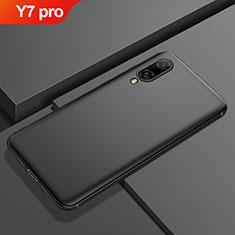 Huawei Y7 (2019)用極薄ソフトケース シリコンケース 耐衝撃 全面保護 S01 ファーウェイ ブラック