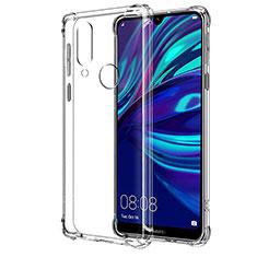 Huawei Y7 (2019)用極薄ソフトケース シリコンケース 耐衝撃 全面保護 クリア透明 T04 ファーウェイ クリア