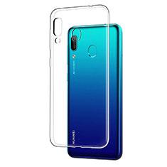 Huawei Y7 (2019)用極薄ソフトケース シリコンケース 耐衝撃 全面保護 クリア透明 T05 ファーウェイ クリア
