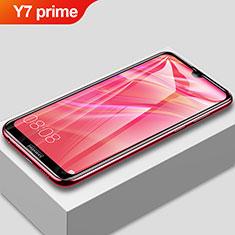 Huawei Y7 Prime (2019)用強化ガラス フル液晶保護フィルム F02 ファーウェイ ブラック