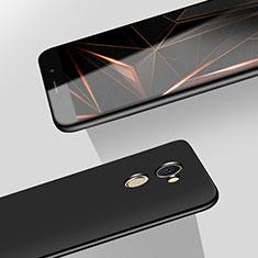 Huawei Y7 Prime用ハードケース プラスチック 質感もマット M08 ファーウェイ ブラック