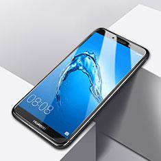 Huawei Y7 Prime用強化ガラス 液晶保護フィルム T01 ファーウェイ クリア