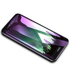 Huawei Y7 Prime用アンチグレア ブルーライト 強化ガラス 液晶保護フィルム B02 ファーウェイ クリア