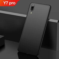 Huawei Y7 Pro (2019)用ハードケース プラスチック 質感もマット M01 ファーウェイ ブラック