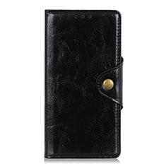 Huawei Y8p用手帳型 レザーケース スタンド カバー L01 ファーウェイ ブラック