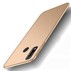 Huawei Y8s用ハードケース プラスチック 質感もマット カバー M01 ファーウェイ ゴールド