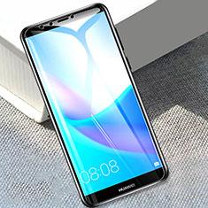 Huawei Y9 (2018)用強化ガラス 液晶保護フィルム T01 ファーウェイ クリア