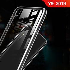 Huawei Y9 (2019)用極薄ソフトケース シリコンケース 耐衝撃 全面保護 クリア透明 T03 ファーウェイ クリア
