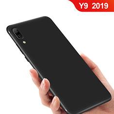 Huawei Y9 (2019)用極薄ソフトケース シリコンケース 耐衝撃 全面保護 ファーウェイ ブラック