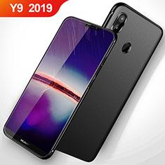 Huawei Y9 (2019)用極薄ソフトケース シリコンケース 耐衝撃 全面保護 S02 ファーウェイ ブラック