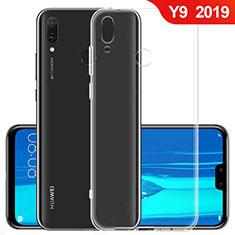 Huawei Y9 (2019)用極薄ソフトケース シリコンケース 耐衝撃 全面保護 クリア透明 T06 ファーウェイ クリア