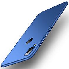 Huawei Y9 (2019)用ハードケース プラスチック 質感もマット R01 ファーウェイ ネイビー