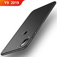 Huawei Y9 (2019)用ハードケース プラスチック 質感もマット R01 ファーウェイ ブラック