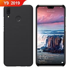 Huawei Y9 (2019)用ハードケース プラスチック 質感もマット M02 ファーウェイ ブラック