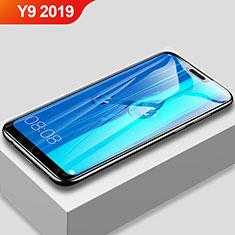 Huawei Y9 (2019)用強化ガラス フル液晶保護フィルム F03 ファーウェイ ブラック