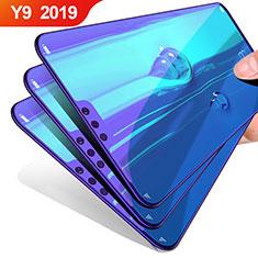 Huawei Y9 (2019)用高光沢 液晶保護フィルム フルカバレッジ画面 ファーウェイ クリア