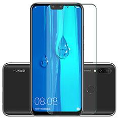 Huawei Y9 (2019)用強化ガラス 液晶保護フィルム T01 ファーウェイ クリア
