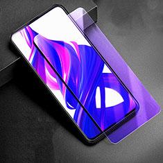 Huawei Y9s用アンチグレア ブルーライト 強化ガラス 液晶保護フィルム B01 ファーウェイ クリア