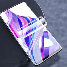 Huawei Y9s用高光沢 液晶保護フィルム フルカバレッジ画面 F02 ファーウェイ クリア