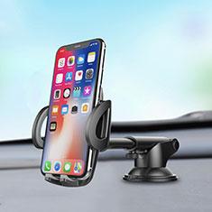Xiaomi Poco M3用スマートフォン車載ホルダー 車載スタンド 真空吸盤で車のダッシュボードに直接取り付け ユニバーサル H11 シルバー