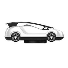 Xiaomi Poco M3用スマートフォン車載ホルダー 車載スタンド 真空吸盤で車のダッシュボードに直接取り付け ユニバーサル H03 ホワイト
